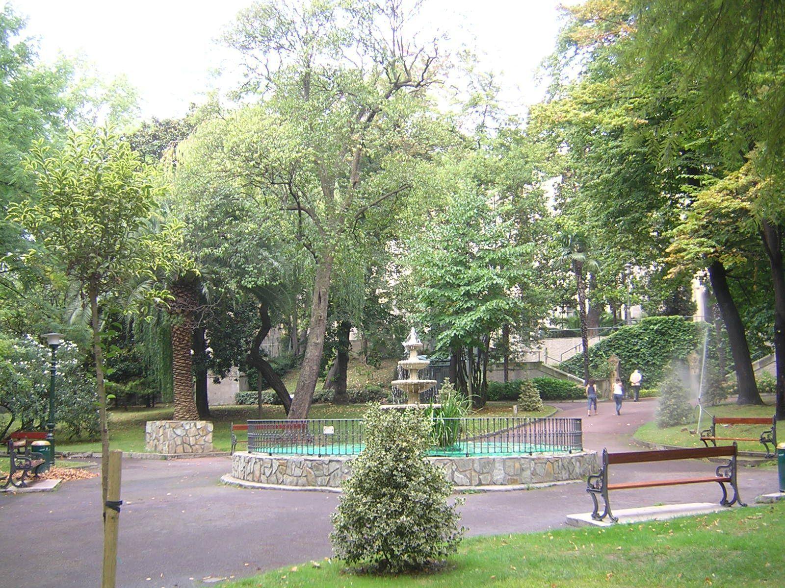Jardines de la santa y real casa de la misericordia for Jardines de bilbao