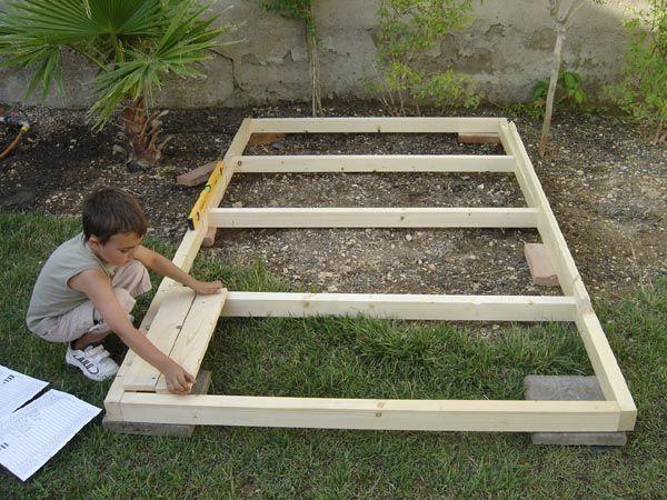 Construir una caseta de ni os blog garden center ejea for Como hacer caseta de madera para jardin