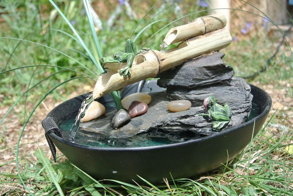 Armoniza tu hogar con fuentes de agua for Fuentes de agua con peces