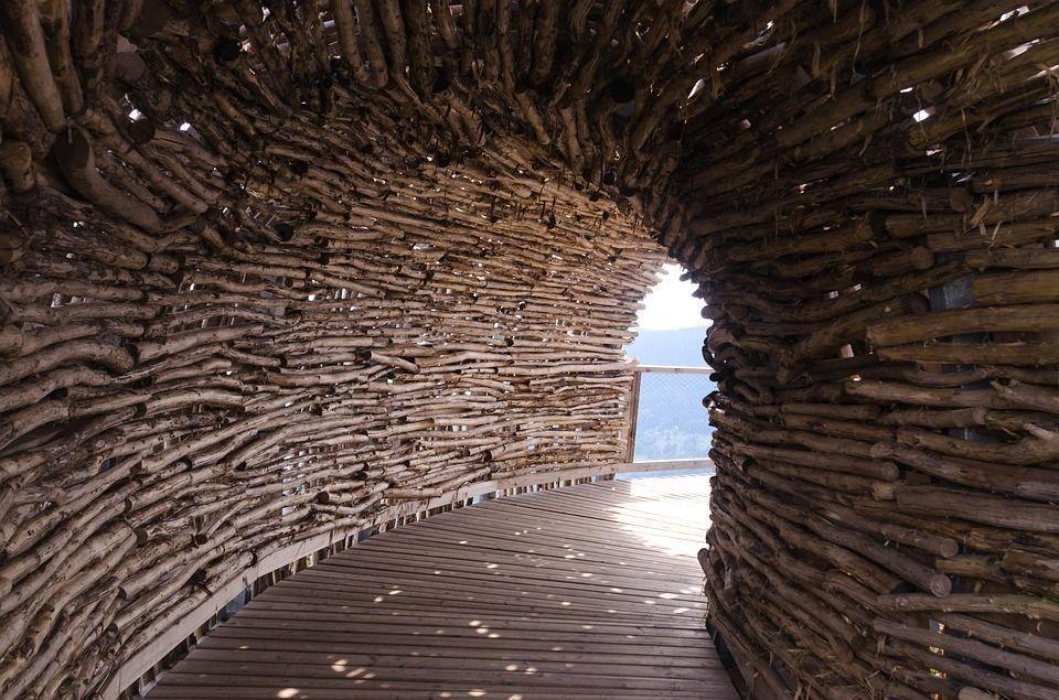 Caminos madera