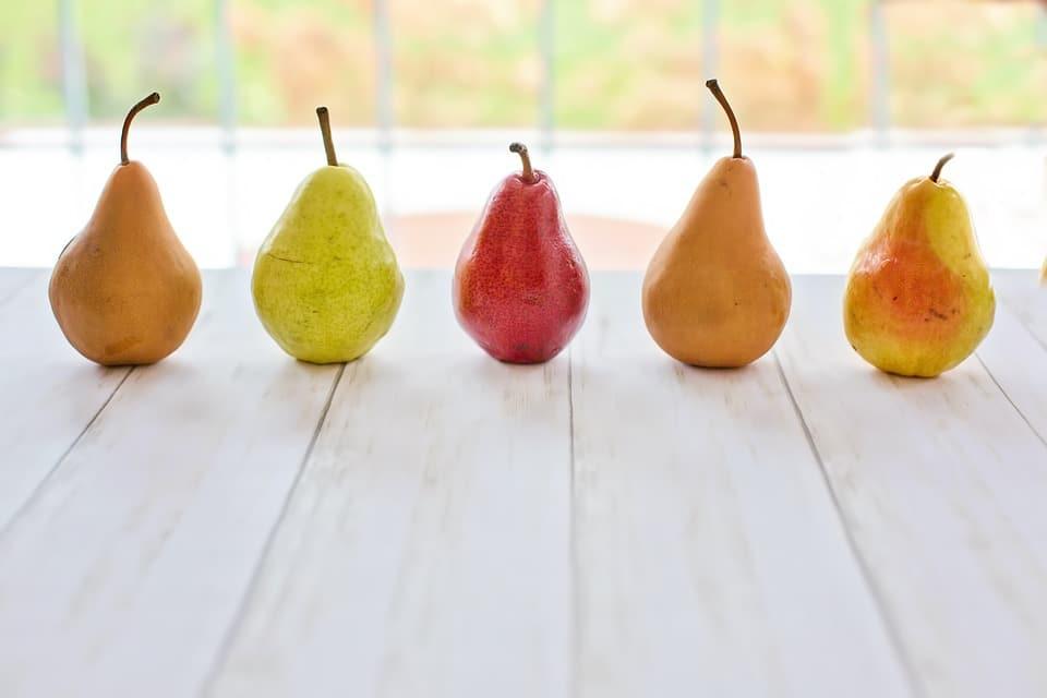 Variedades peras