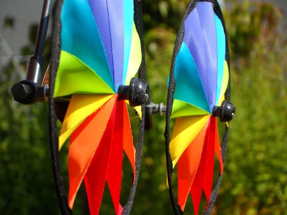 Veletas coloridas