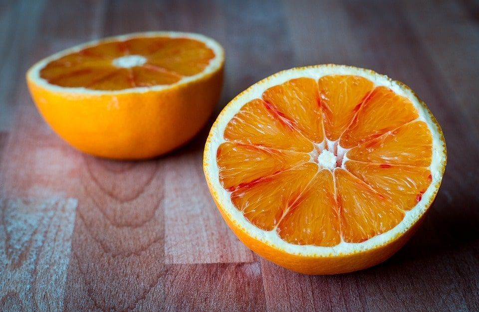 Variedades naranjas