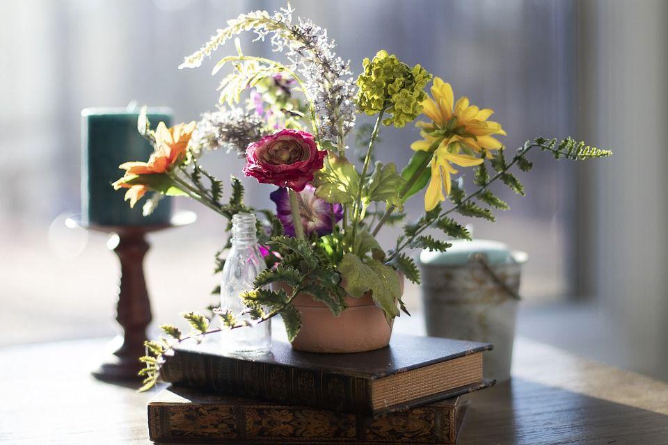 Flores y poemas